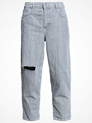 Topshop Jeans relaxed fit cream