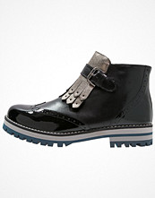Vitti Love Ankelboots black/nickel/azul/gris