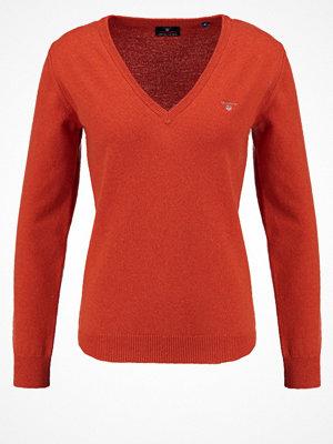 Gant SUPER FINE VNECK Stickad tröja orange