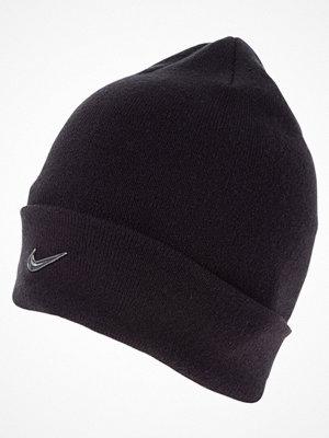 Mössor - Nike Sportswear SWOOSH BEANIE Mössa black/metallic silver