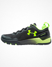 Sport & träningsskor - Under Armour CHARGED ULTIMATE TR Aerobics & gympaskor gray/hyper green
