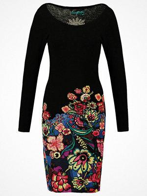 Desigual MARTINA Stickad klänning black