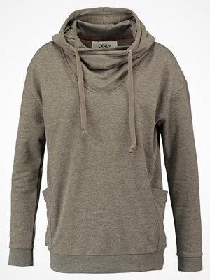 Street & luvtröjor - Only ONLNADIA  Sweatshirt tarmac