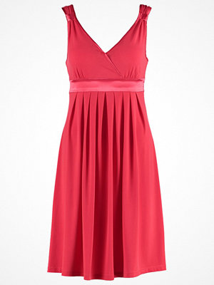 Anna Field Jerseyklänning lipstick red