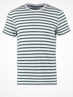 YourTurn Tshirt med tryck white/green