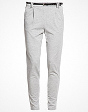Vero Moda VMKELLY Tygbyxor light grey melange