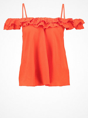 Topshop FLORENCE Blus red