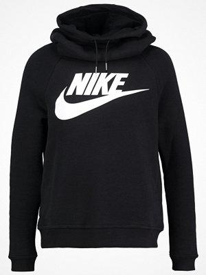 Street & luvtröjor - Nike Sportswear RALLY Sweatshirt black/black/white