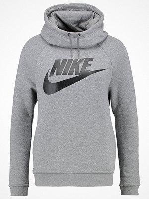 Street & luvtröjor - Nike Sportswear RALLY Luvtröja carbon heather/dark grey/black