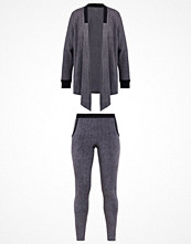 Pyjamas & myskläder - DKNY Intimates SET Pyjamas charcoal faux heather