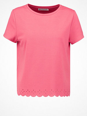 Even&Odd Tshirt med tryck coral