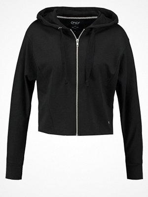 Street & luvtröjor - Only ONLNADIA  Sweatshirt black