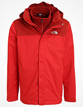 Regnkläder - The North Face EVOLVE II TRICLIMATE 2IN1 Outdoorjacka red/cardinal red