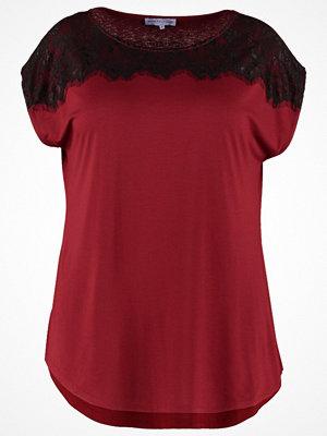 Anna Field Curvy Tshirt med tryck pomegranate