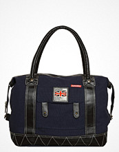Superdry ROOKIE  Weekendbag navy