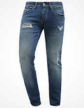 Jeans - Tiffosi Jeans slim fit green cast destroy