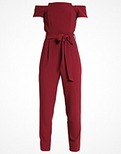 Miss Selfridge Petite Overall / Jumpsuit burgundy