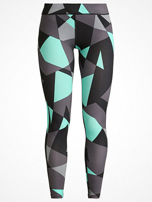 Even&Odd active Tights black/electric green