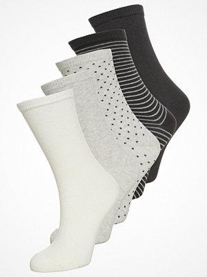 Anna Field 5 PACK Strumpor white/black/grey