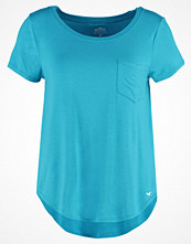 Hollister Co. MUSTHAVE Tshirt med tryck turquoise