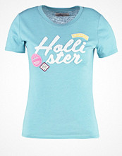Hollister Co. Tshirt med tryck cameo blue