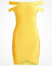 Missguided Jerseyklänning yellow