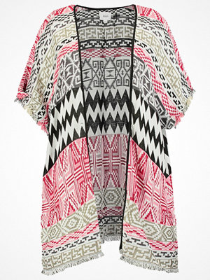 Zizzi Poncho  barn red