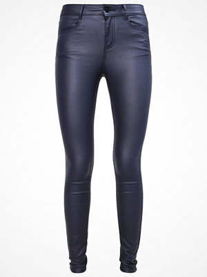 Vila VICOMMIT NEW COATED Jeans Skinny Fit total eclipse