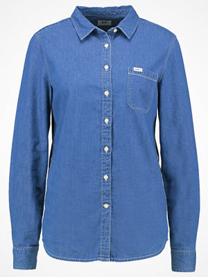 Lee Skjorta washed blue