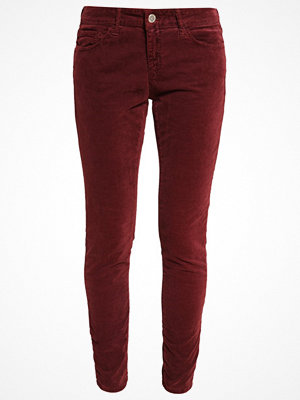 Rich & Royal Tygbyxor maroon red