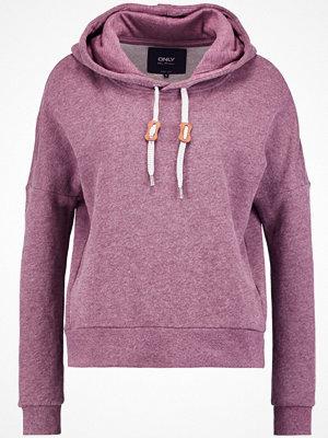 Street & luvtröjor - Only ONLNEW BETTY Sweatshirt fudge