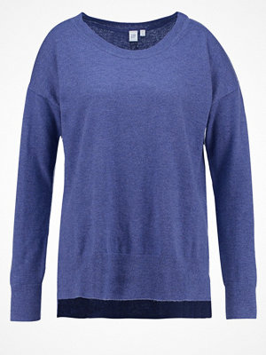 GAP Stickad tröja blue heather