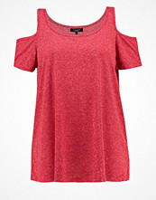 New Look Curves Tshirt bas bright red