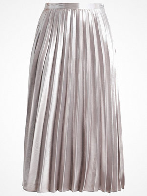 Topshop Petite Veckad kjol silver