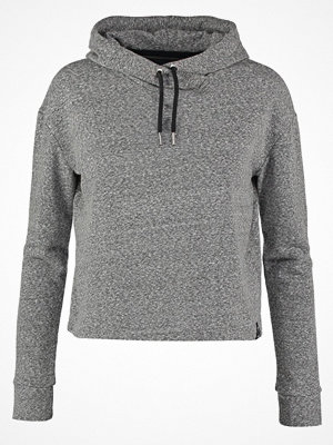 Superdry LUXE Luvtröja blackened grey
