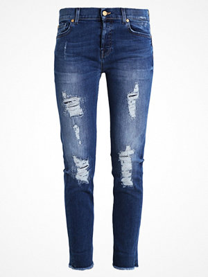 7 For All Mankind JOSEFINA Jeans relaxed fit midnight blue distressed