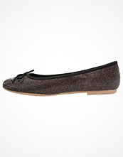 Ballerinaskor - ONLY SHOES Ballerinas gunmetal glitter