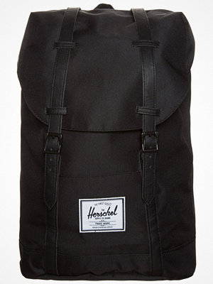 Herschel RETREAT Ryggsäck black svart