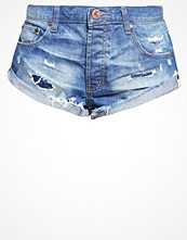 Shorts & kortbyxor - One Teaspoon BANDITS Jeansshorts blue cult