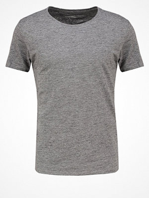 Selected Homme SHHPIMADAVE Tshirt bas dark grey melange