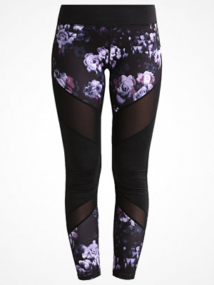 Even&Odd active Tights gray ridge/damson