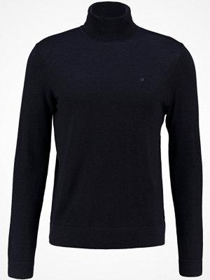 Calvin Klein SPIKE ROLLNECK Stickad tröja blue