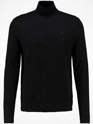 Calvin Klein SPIKE ROLLNECK Stickad tröja black