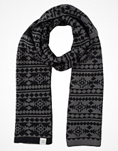 Halsdukar & scarves - YOUR TURN Halsduk grey black