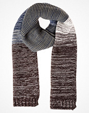 Halsdukar & scarves - YOUR TURN Halsduk dark grey/offwhite