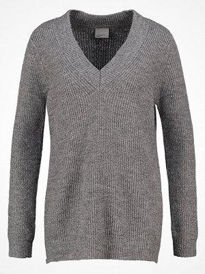 Vero Moda VMMIRIAM Stickad tröja medium grey melange