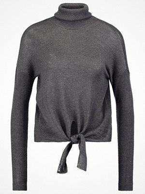 Only ONLRIO  Stickad tröja dark grey melange