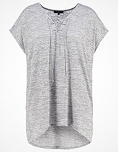 New Look Curves Tshirt med tryck mid grey