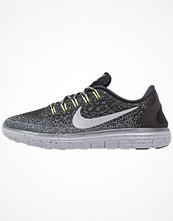 Sport & träningsskor - Nike Performance FREE RUN DISTANCE SHIELD Löparskor schwarz/grau