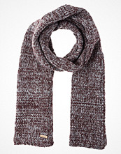 Halsdukar & scarves - Pier One Halsduk grey/dark bordeaux
